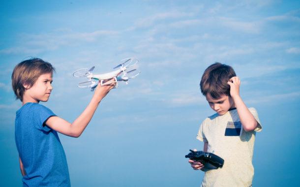 dron na prezent dla dzieci