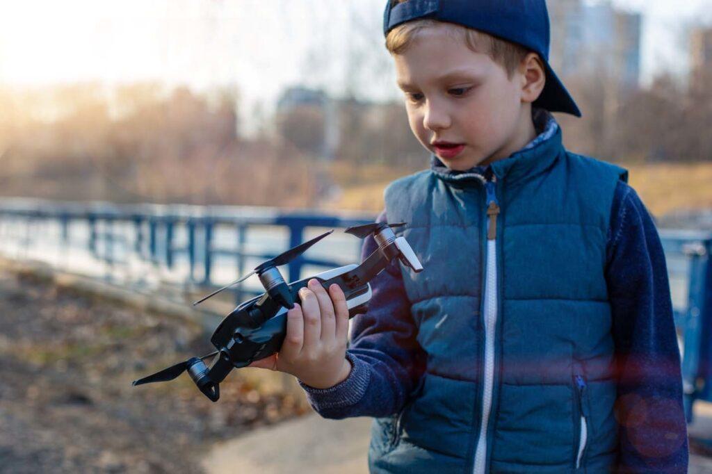 dron na prezent dla dziecka