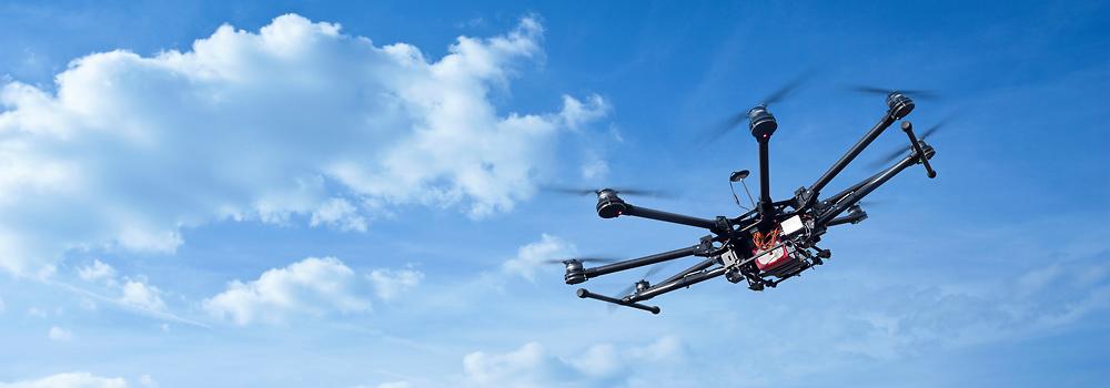inspekcje dronem