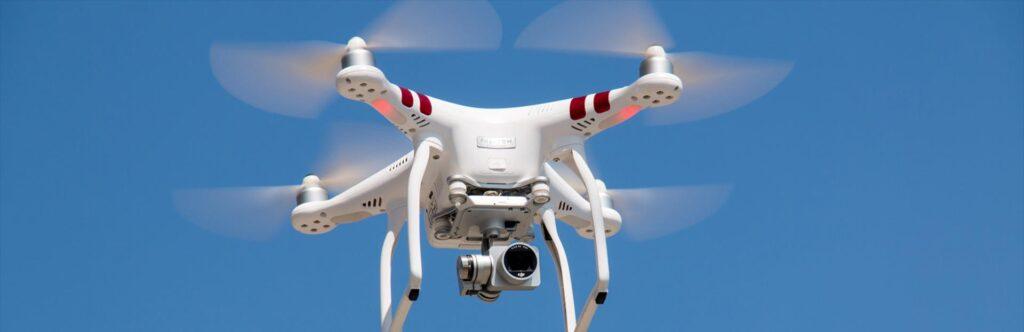 ochrona drony
