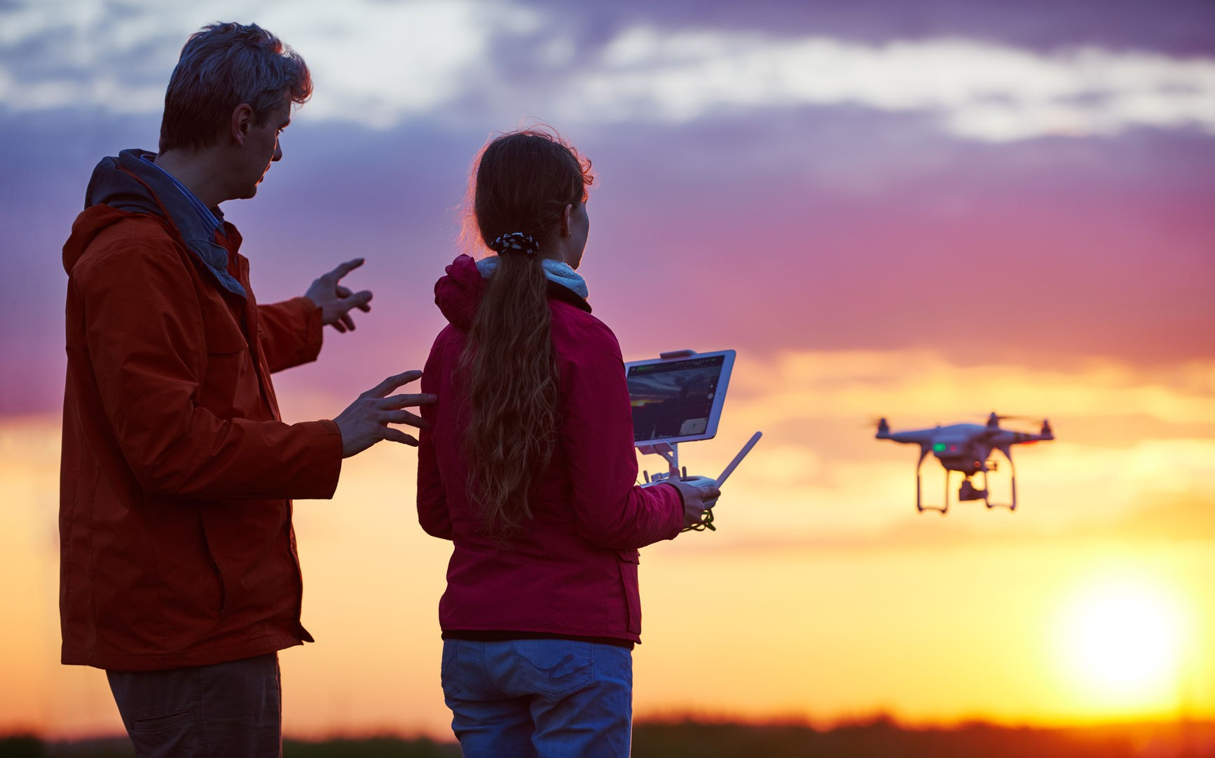 nauka latania dronem obraz 5