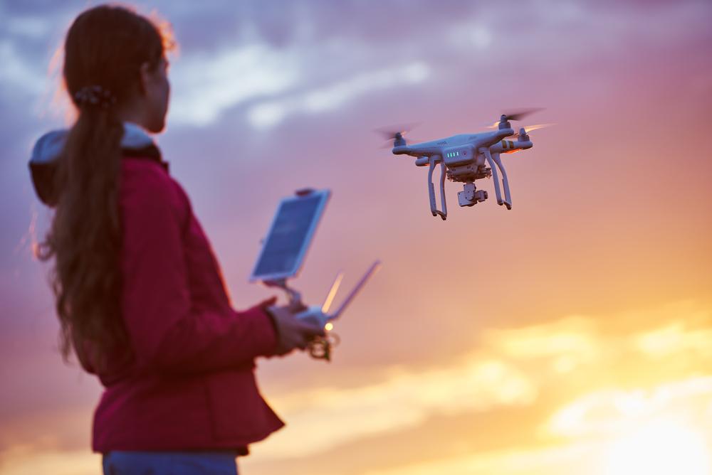 nauka latania dronem obraz 6