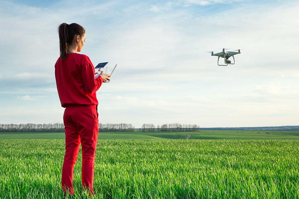 nauka latania dronem obraz 8