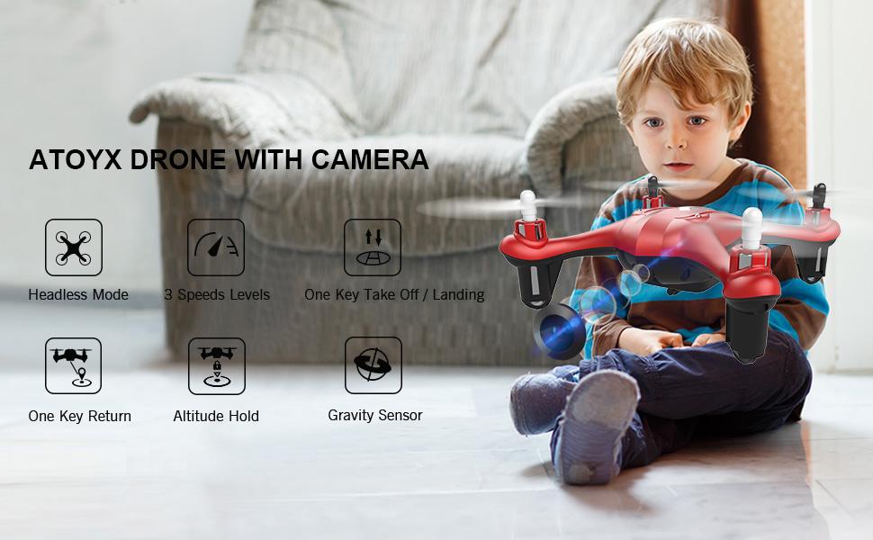 dron dla dziecka 4 letniego