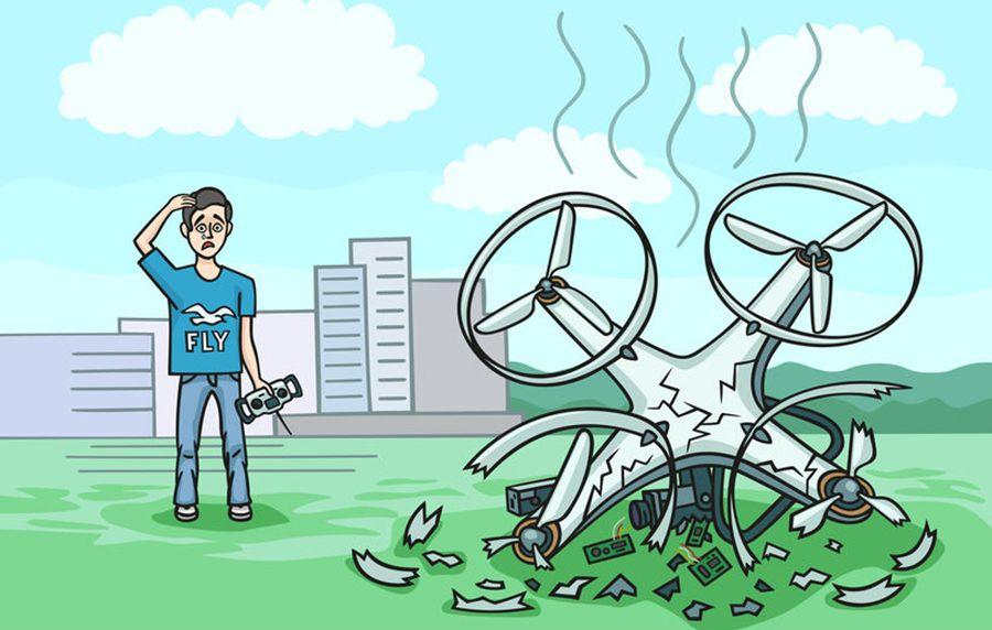 drony a bezpieczeństwo obraz 2